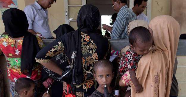 """""""Ta övergreppen i Burma till säkerhetsrådet"""""""