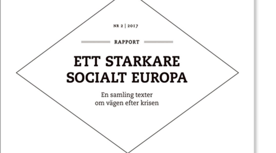 Ett starkare Socialt Europa