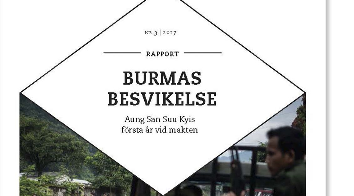 Burmas besvikelse