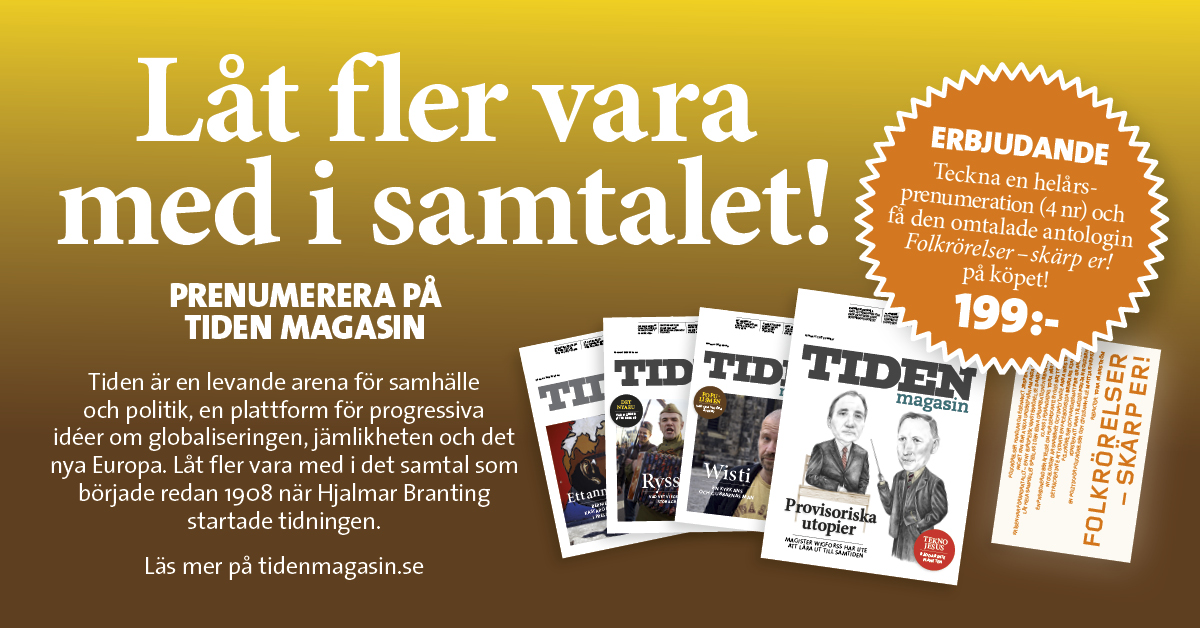 Tiden på S-kongressen 8-12 april