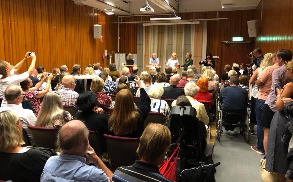Fullsatt seminarium om funktionshinderpolitik – se seminariet här