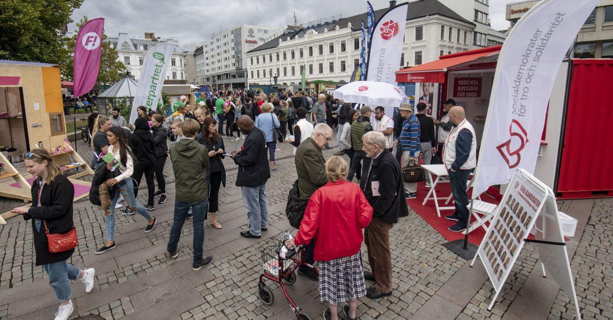 Folkrörelse eller pasokisering?  Socialdemokratins vägval