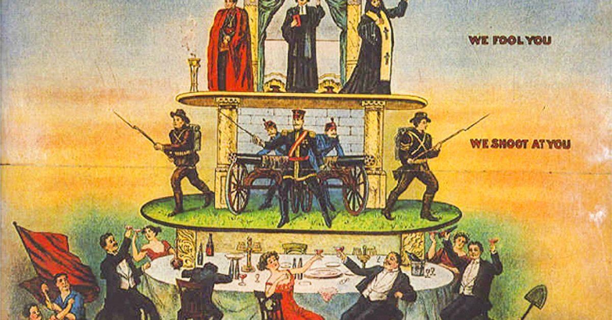 Från champagnekvinnan till arbetarkvinnan  – maktpyramiden består men ojämställdheten förskjuts