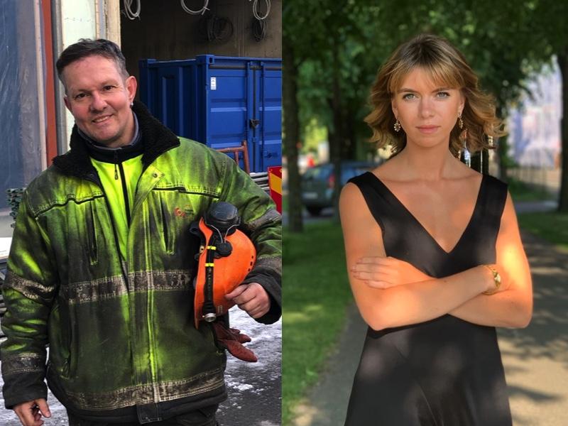 Calle Fridén och Elsa Alm redaktörer för Tidens digitala opinionsbildning